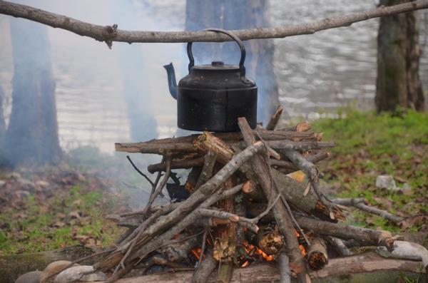 عکس چای زغالی